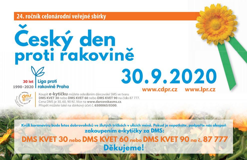 Český den proti rakovině 2020 – posunutý termín